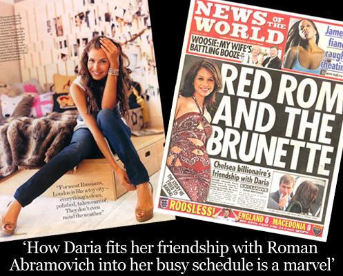 SEXY Russian Celebrity Daria Zhukova